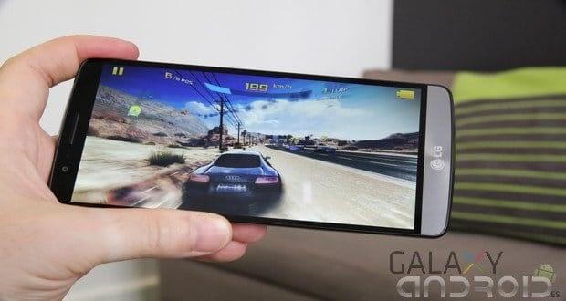 LG G3 se calienta al usar juegos