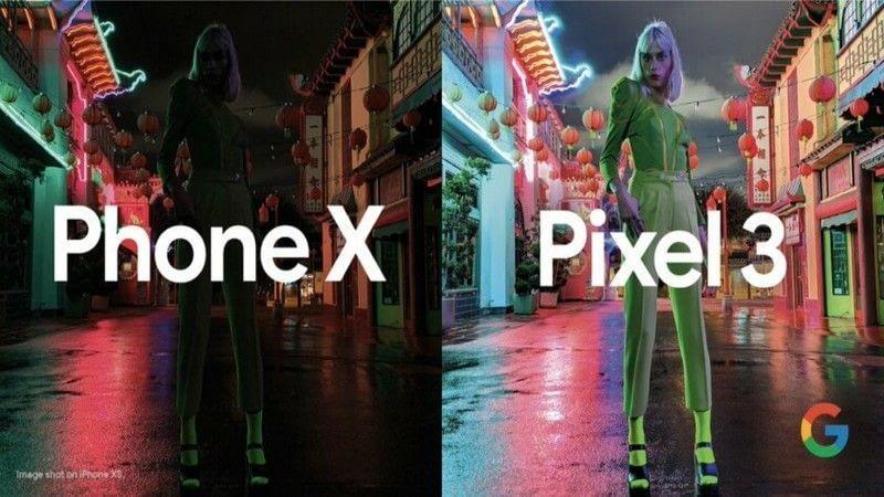 Modo nocturno Google Pixel 3 mejor cámara que iPhone Xs