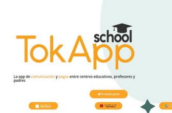 Portada de TokApp gestión de comunicación en escuelas