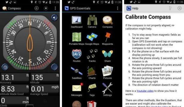 calibración de GPS en android 4.4.2