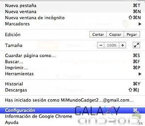Borrar contraseñas Google Chrome 1