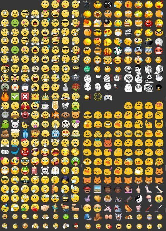 emoticonos de whatsappl plus
