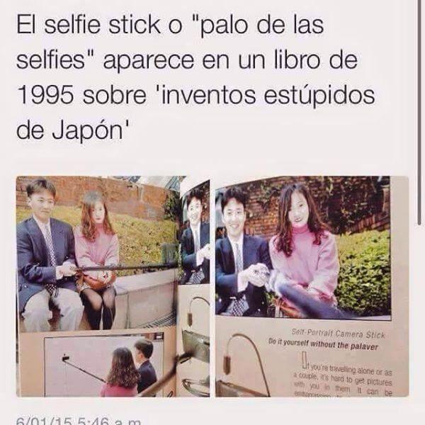 invento japonés selfie 1995