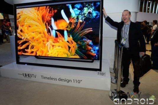 Pantalla UHD Samsung 110 pulgadas
