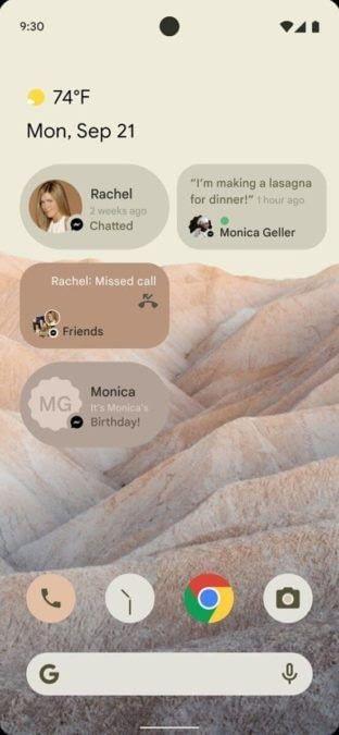 Nueva Interfaz android12