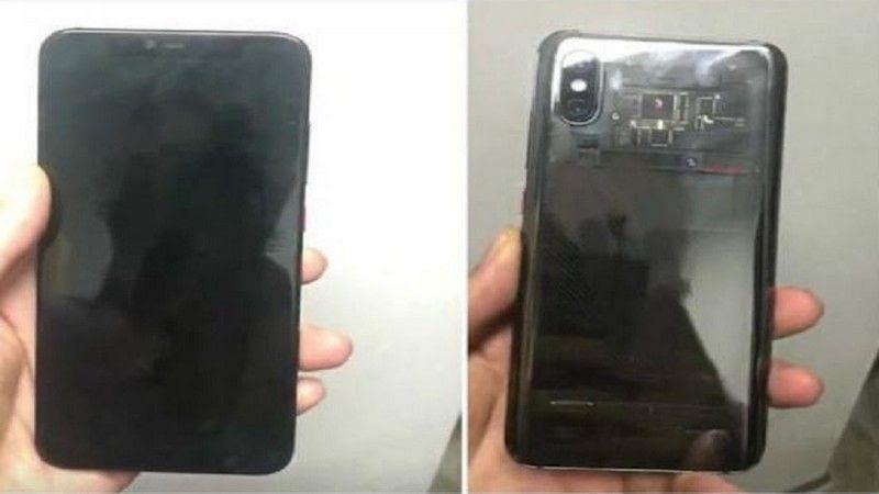 Supuesto Xiaomi Mi8 filtrado