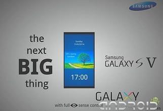 Portada de Samsung Galaxy S5 características