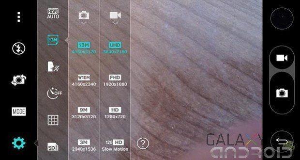 zoom mientras graba vídeo en G3