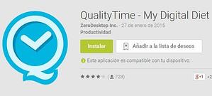 app quality time