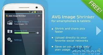 Redimensionar imágenes con AVG Image Shrink