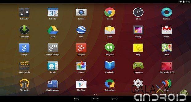 Google Now Launcher se actualiza para android kitkat 4.4