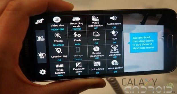 Actualización de la cámara y sensor del Galaxy S5