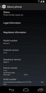 Android 4.4.3 filtrado, soluciones a errores importantes