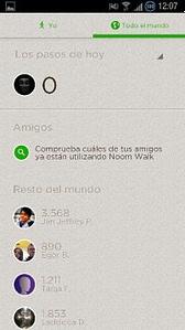 Noom Walk captura 2