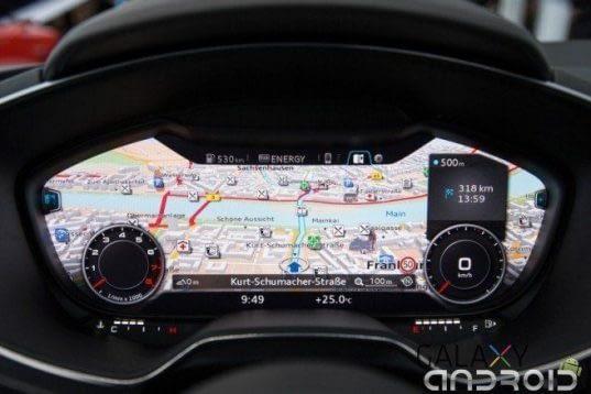 Salpicadero nuevo Audi TT 2014