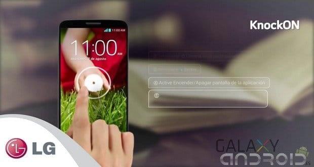 Knock On activa pantalla en LG G3 Solución problemas Lg G3