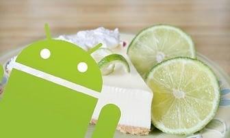 Portada de Key Lime Pie Android 5.0
