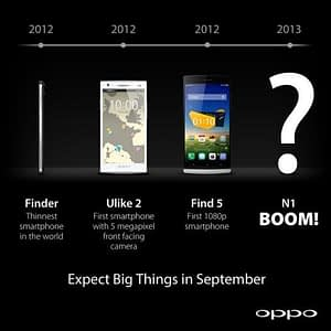 modelos Oppo 2012