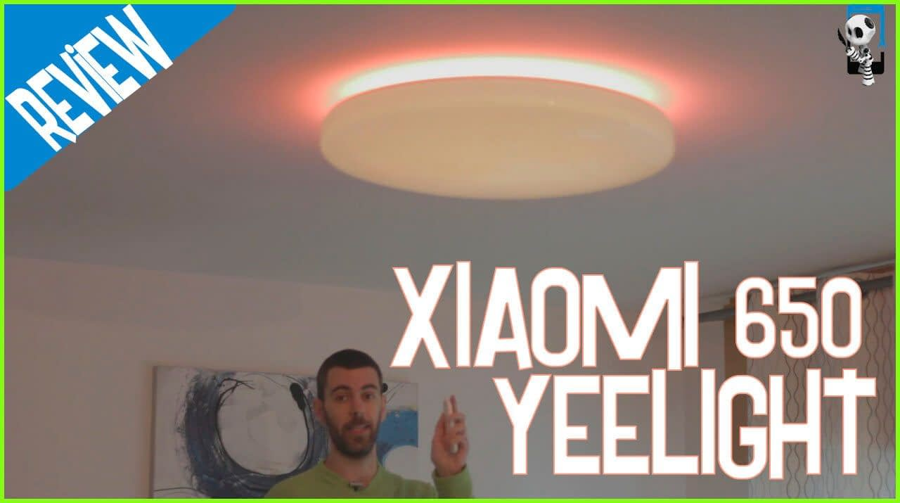 Review de lámpara Xiaomi 650 Yeelight Jiaoyue