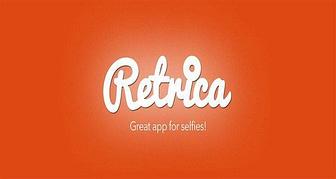 Portada de Retrica, mejora tus selfies