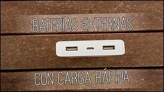 Las mejores baterías externas con carga rápida