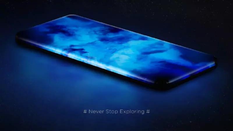 Nuevo prototipo de Xiaomi con pantalla en cascada
