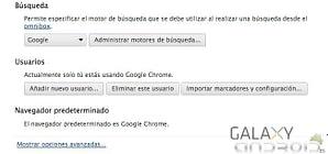 Borrar contraseñas de google chrome 2