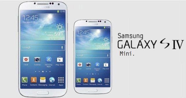 Galaxy mini S4 portada