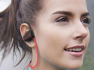 Auricular pabellón auditivo completo para correr
