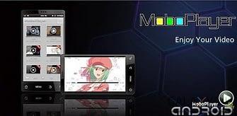 Portada de moboplayer reproductor de vídeo android