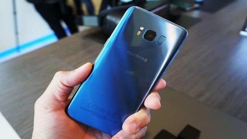 Desbloqueo táctil en Galaxy S8