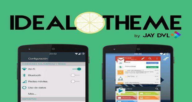 IdeaL Theme para Cyanogen Mod 11 Android L