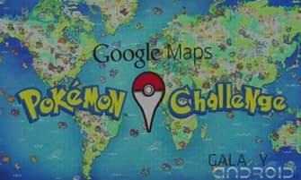 Pokemon challenge en Google Maps
