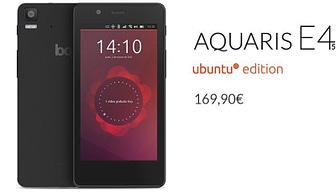 Portada de BQ aquaris ubuntu edition