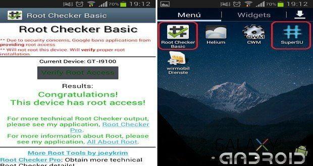imagen de Root Checker
