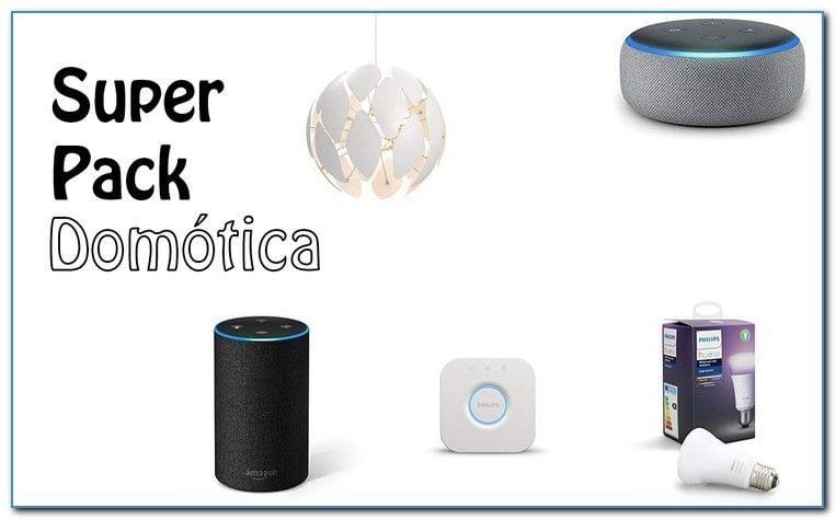 Portada- SuperPack Domótica Amazon Echo