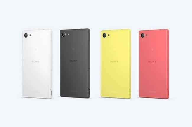 Colores Sony Xperia Z5 Compact