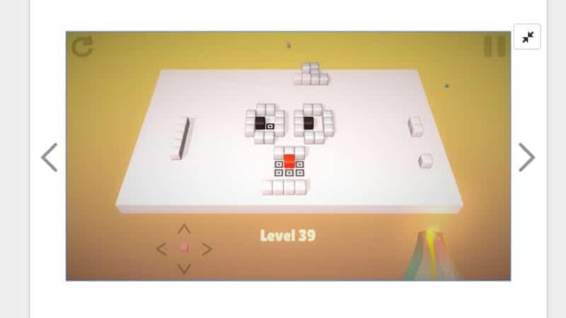 Portada del juego puzzle Cubes