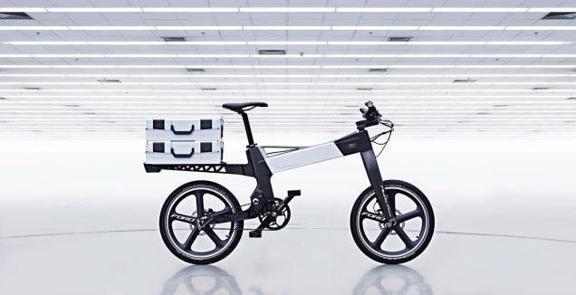 Bicicleta Ford con sensores