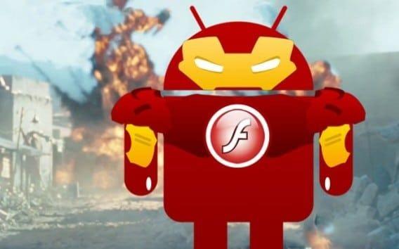 Portada tutorial instalar flash player en andriod 4.x
