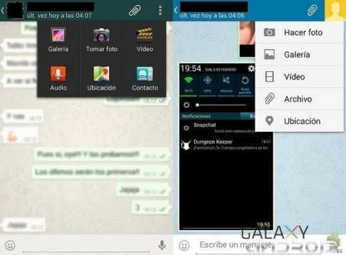 multimedia en Whatsapp y Telegram