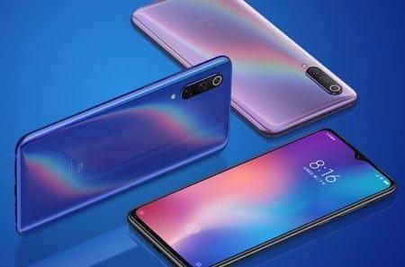 Presentación de colores Xiaomi mi 9
