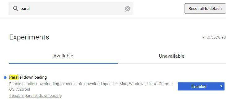 Descargas Paralelas para Chrome
