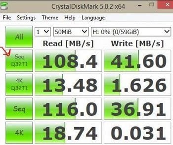 Datatraveler Benchmark
