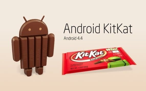 Portada de Android 4.4 KitKat