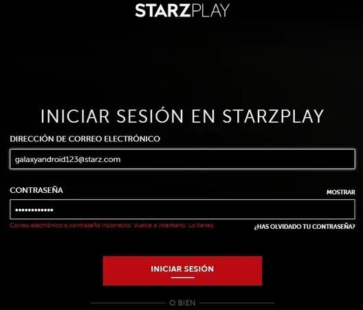 Darse de baja de starZ canal amazon Prime desde la web