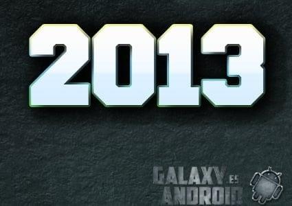 Portada de galaxy android 2013