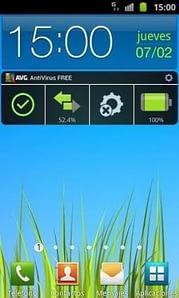 AVG widget