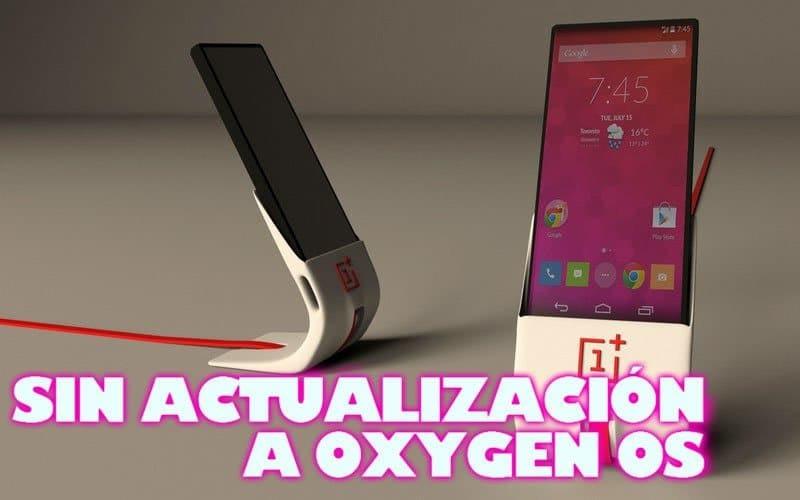 OPO no actualiza a Oxygen OS
