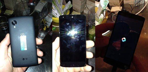 Nexus 5 imágenes filtradas leaked